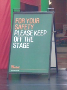 keep-off-the-stage