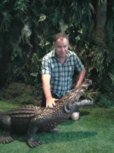 Paul and Croc